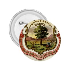 Historical Coat Of Arms Of Dakota Territory 2 25  Buttons