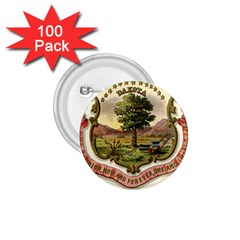 Historical Coat Of Arms Of Dakota Territory 1 75  Buttons (100 Pack)