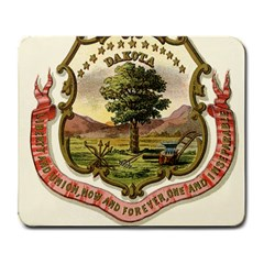 Historical Coat Of Arms Of Dakota Territory Large Mousepads by abbeyz71