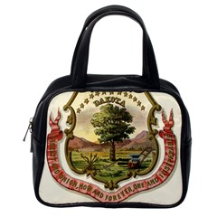 Historical Coat Of Arms Of Dakota Territory Classic Handbag (one Side) by abbeyz71