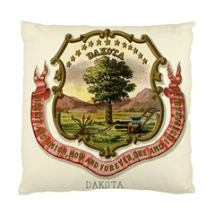 Historical Coat Of Arms Of Dakota Territory Standard Cushion Case (one Side) by abbeyz71