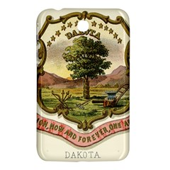 Historical Coat Of Arms Of Dakota Territory Samsung Galaxy Tab 3 (7 ) P3200 Hardshell Case