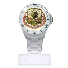 Historical Coat Of Arms Of Dakota Territory Plastic Nurses Watch by abbeyz71