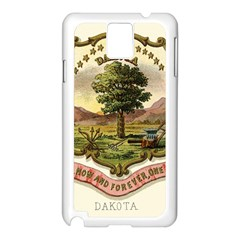 Historical Coat Of Arms Of Dakota Territory Samsung Galaxy Note 3 N9005 Case (white) by abbeyz71