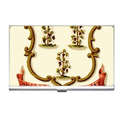 Historical Coat Of Arms Of Connecticut Business Card Holder by abbeyz71