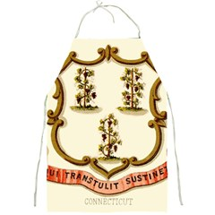 Historical Coat Of Arms Of Connecticut Full Print Aprons by abbeyz71