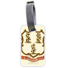 Historical Coat Of Arms Of Connecticut Luggage Tags (one Side)  by abbeyz71