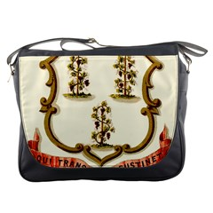 Historical Coat Of Arms Of Connecticut Messenger Bag