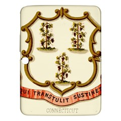 Historical Coat Of Arms Of Connecticut Samsung Galaxy Tab 3 (10 1 ) P5200 Hardshell Case  by abbeyz71