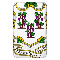 Coat Of Arms Of Connecticut Samsung Galaxy Tab 3 (8 ) T3100 Hardshell Case  by abbeyz71