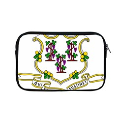 Coat Of Arms Of Connecticut Apple Macbook Pro 13  Zipper Case by abbeyz71
