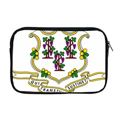 Coat Of Arms Of Connecticut Apple Macbook Pro 17  Zipper Case by abbeyz71