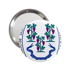 Great Seal Of Connecticut 2 25  Handbag Mirrors by abbeyz71