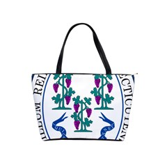 Great Seal Of Connecticut Classic Shoulder Handbag by abbeyz71