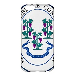 Great Seal Of Connecticut Apple Iphone 6 Plus/6s Plus Hardshell Case by abbeyz71