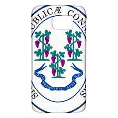Great Seal Of Connecticut Samsung Galaxy S6 Hardshell Case  by abbeyz71
