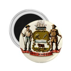 Historical Coat Of Arms Of Delaware 2 25  Magnets