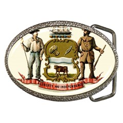 Historical Coat Of Arms Of Delaware Belt Buckles by abbeyz71