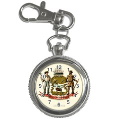 Historical Coat Of Arms Of Delaware Key Chain Watches