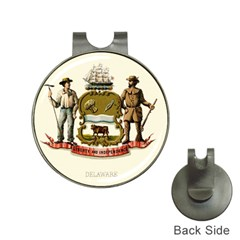 Historical Coat Of Arms Of Delaware Hat Clips With Golf Markers by abbeyz71