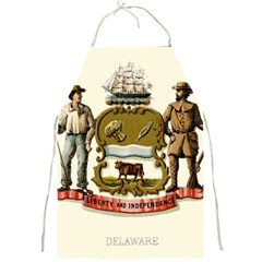 Historical Coat Of Arms Of Delaware Full Print Aprons by abbeyz71