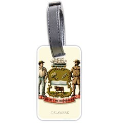 Historical Coat Of Arms Of Delaware Luggage Tags (two Sides) by abbeyz71