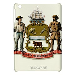 Historical Coat Of Arms Of Delaware Apple Ipad Mini Hardshell Case by abbeyz71