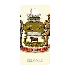 Historical Coat Of Arms Of Delaware Samsung Galaxy Alpha Hardshell Back Case by abbeyz71