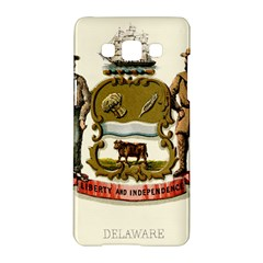 Historical Coat Of Arms Of Delaware Samsung Galaxy A5 Hardshell Case  by abbeyz71