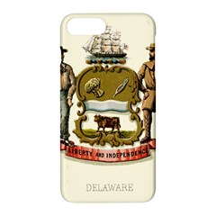 Historical Coat Of Arms Of Delaware Apple Iphone 7 Plus Hardshell Case by abbeyz71