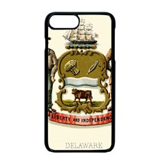 Historical Coat Of Arms Of Delaware Apple Iphone 7 Plus Seamless Case (black)