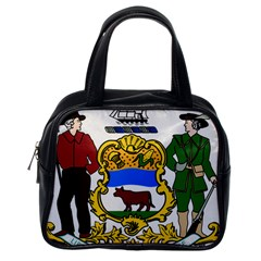 Delaware Coat Of Arms Classic Handbag (one Side) by abbeyz71