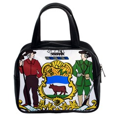 Delaware Coat Of Arms Classic Handbag (two Sides) by abbeyz71