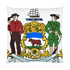 Delaware Coat Of Arms Standard Cushion Case (one Side) by abbeyz71