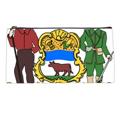 Delaware Coat Of Arms Pencil Cases by abbeyz71