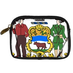 Delaware Coat Of Arms Digital Camera Leather Case by abbeyz71