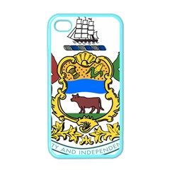 Delaware Coat Of Arms Apple Iphone 4 Case (color) by abbeyz71