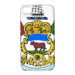 Delaware Coat Of Arms Apple Iphone 4/4s Hardshell Case With Stand by abbeyz71