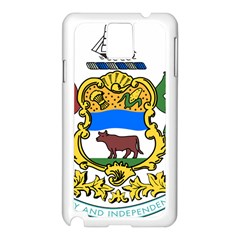 Delaware Coat Of Arms Samsung Galaxy Note 3 N9005 Case (white) by abbeyz71
