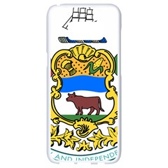 Delaware Coat Of Arms Samsung Galaxy S8 White Seamless Case