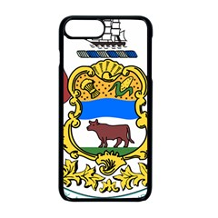 Delaware Coat Of Arms Apple Iphone 8 Plus Seamless Case (black)