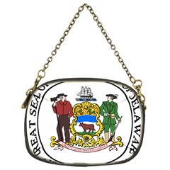 Great Seal Of Delaware Chain Purse (one Side)