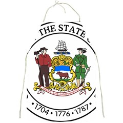 Great Seal Of Delaware Full Print Aprons