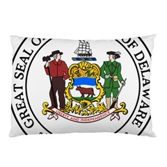Great Seal Of Delaware Pillow Case (two Sides)