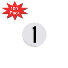 Delaware Route 1 Marker 1  Mini Buttons (100 Pack)