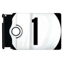 Delaware Route 1 Marker Apple Ipad 2 Flip 360 Case
