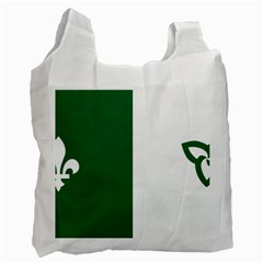 Franco Ontarian Flag Recycle Bag (one Side) by abbeyz71