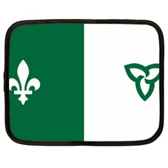 Franco Ontarian Flag Netbook Case (xl)