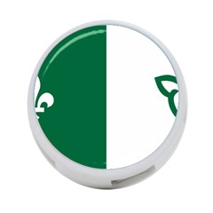 Franco Ontarian Flag 4 Port Usb Hub (two Sides)
