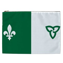 Franco Ontarian Flag Cosmetic Bag (xxl)